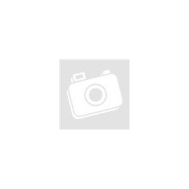 Gumiláb, fekete, szögletes, öntapadós (6x6mm, magasság: 5mm)